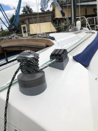 Halyard-winch rehab (part 2 of 2)