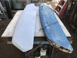 New Ruddercraft Centerboard for Our Ericson 25