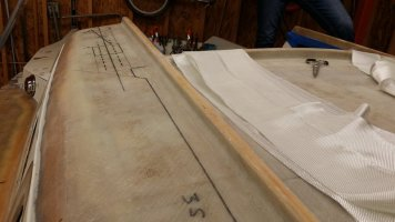 Balsa Core Repair: Cabin Top and Companionway - Part 3