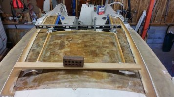 Balsa Core Repair: Cabin Top and Companionway - Part 2