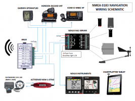 NMEA 0183 Navigation Electronics Schematic
