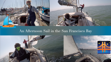 An afternoon sail in the San Francisco Bay (video) - allez venez Tire-Bouchon