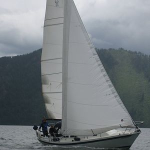 E30+ : Mid-June Sailing on Lake Pend Oreille, ID